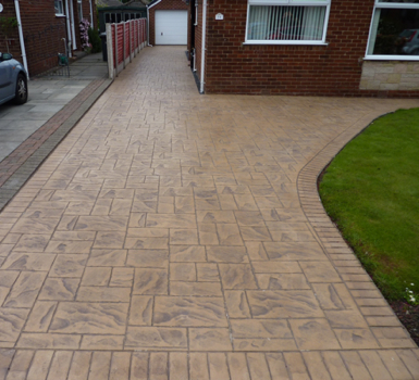 Pattern Imprinted Concrete Smartseal Paving